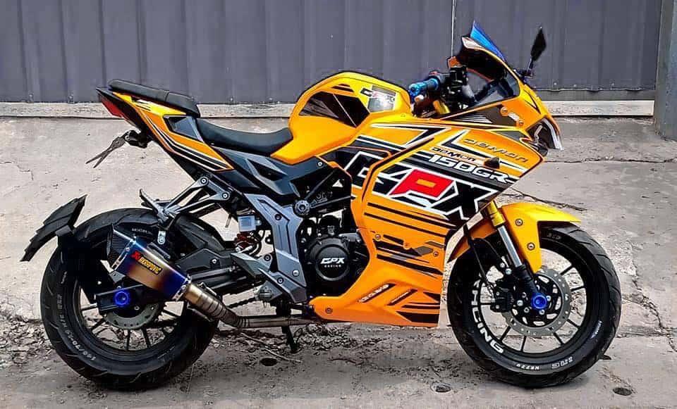 custom bike gpx demon 150gr