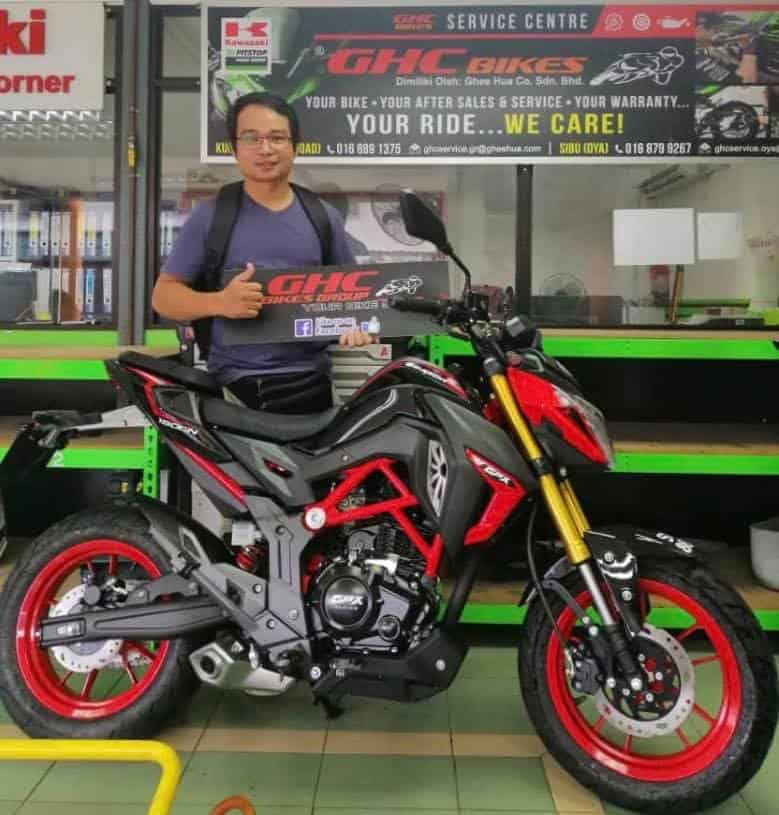 ghc sell gpx demon 150gn red