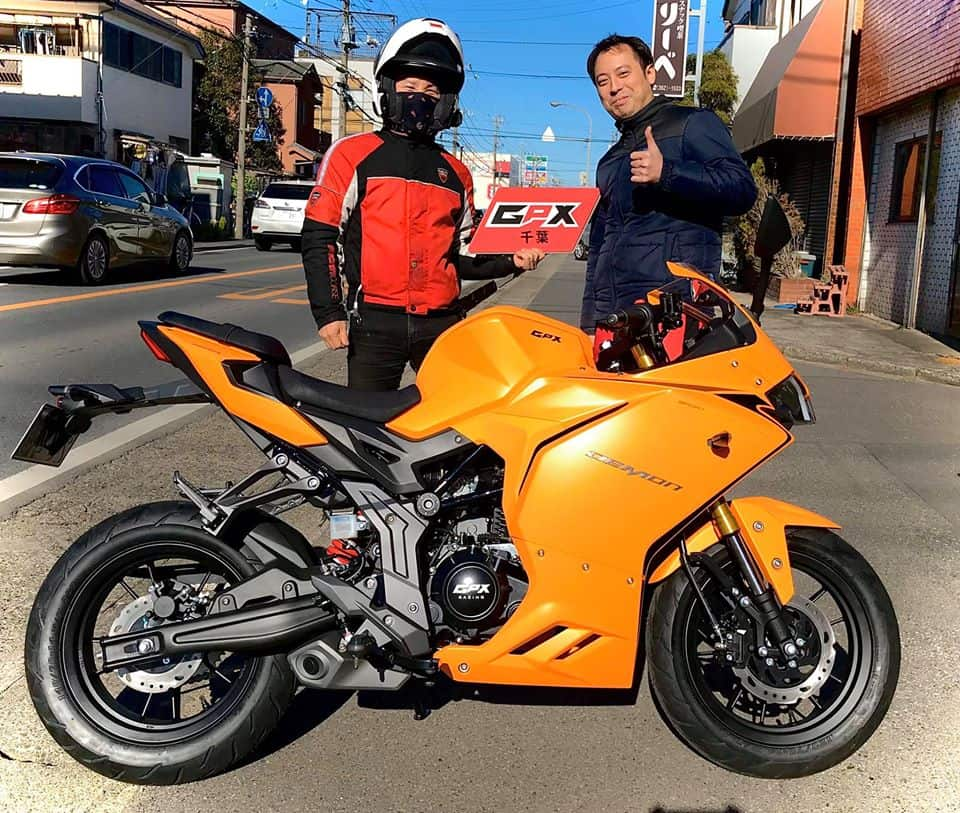 gpx japan demon 150gr yellow owner 1