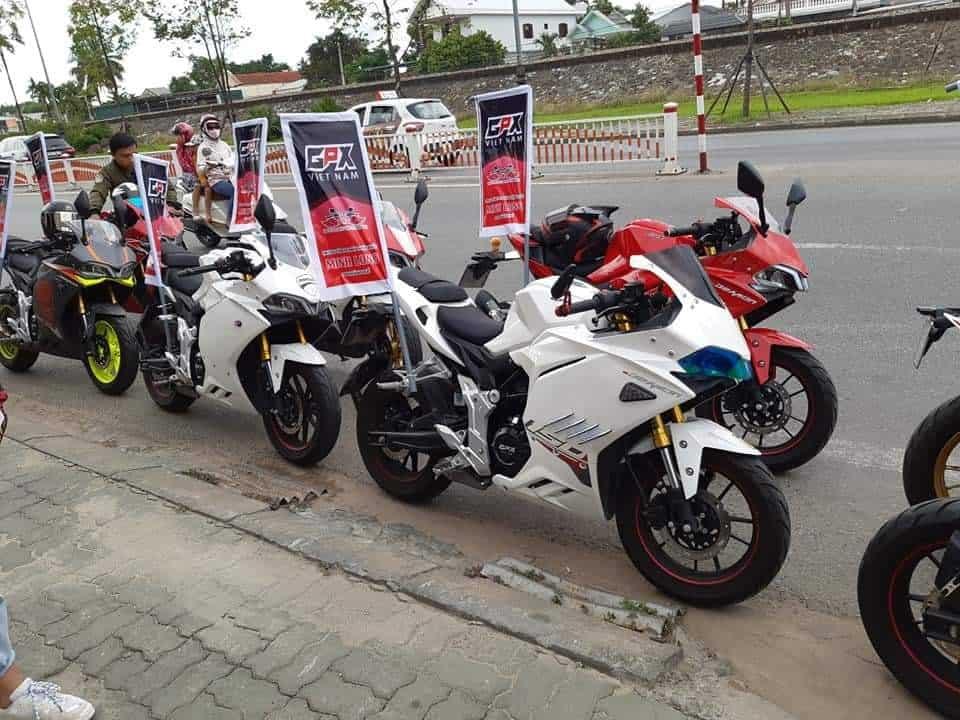 gpx vietnam demon 150gr ride