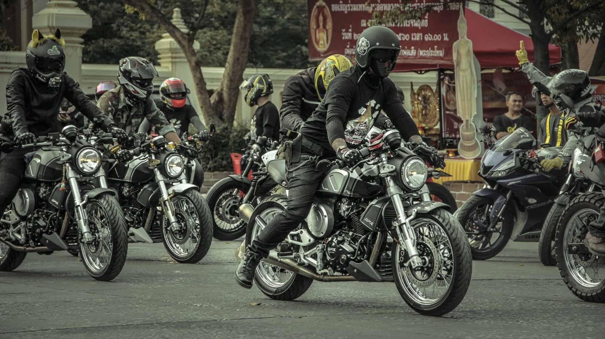 group biker gpx gentleman thai