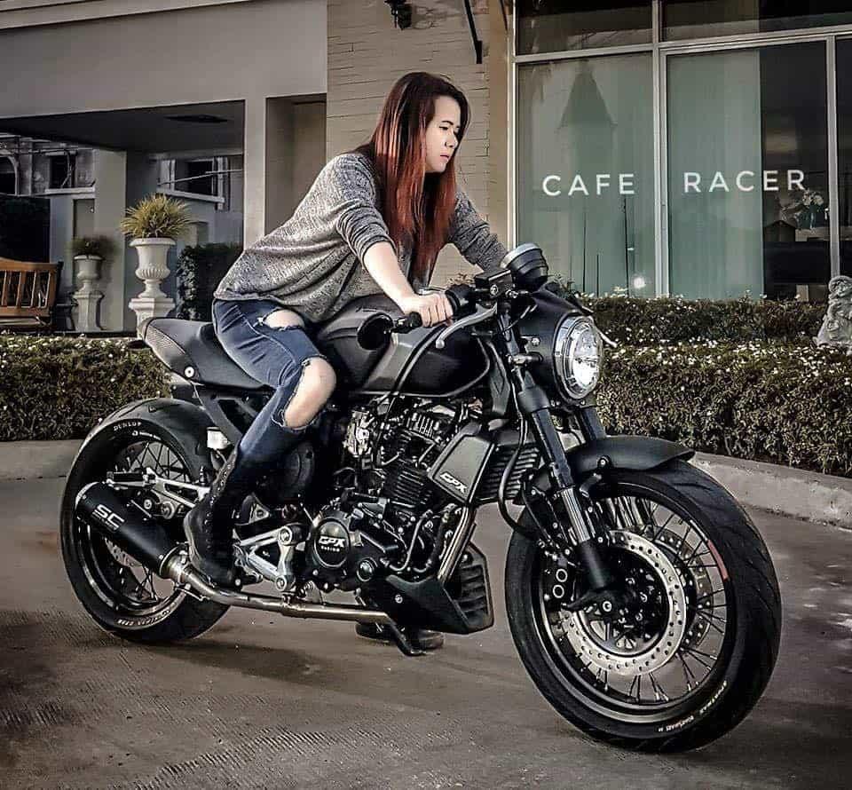 lady cafe racer gpx malaysia