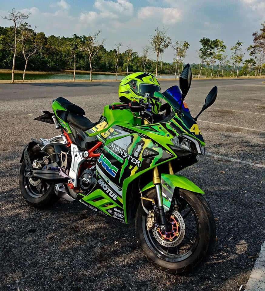 modified green demon 150gr monster