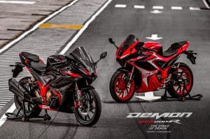 Coming Soon! 200cc Fuel Injection Sports Bike GPX Demon GR200R