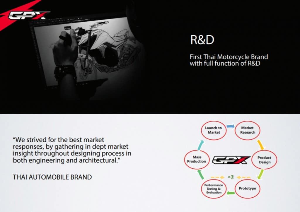 gpx r&d thai automobile brand