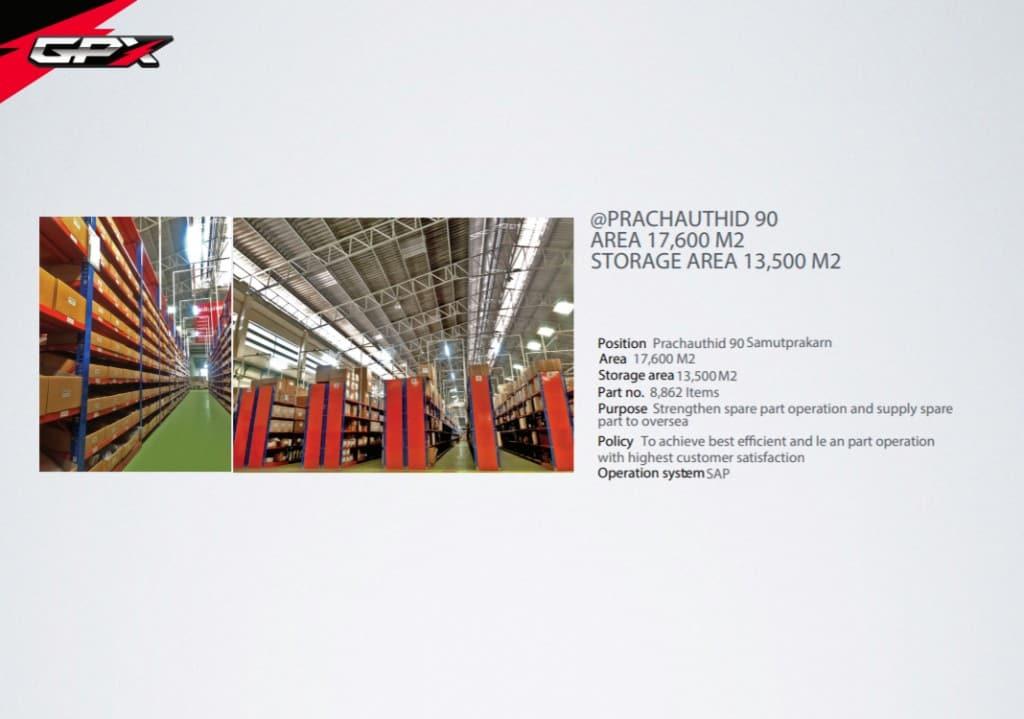 gpx storage area thailand