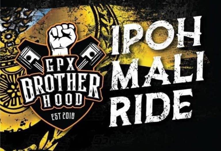 ipoh mali ride gpx brotherhood poster march 2020