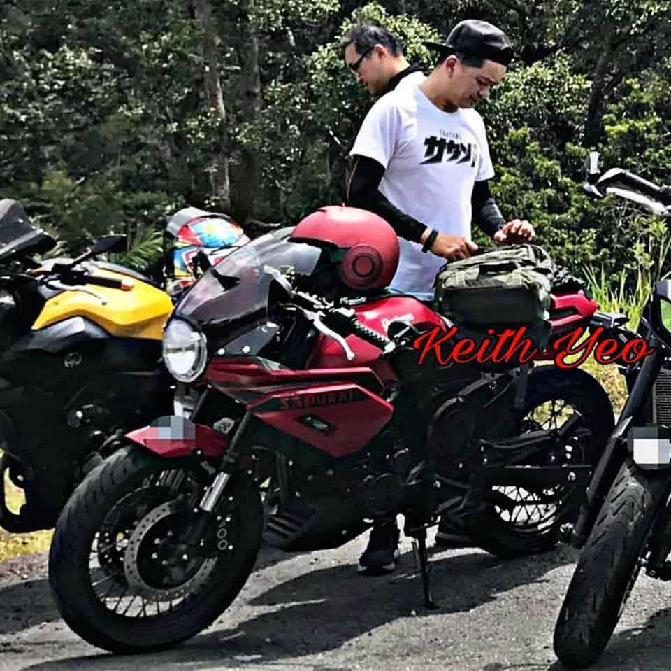 keith yeo gentleman racer 200 red