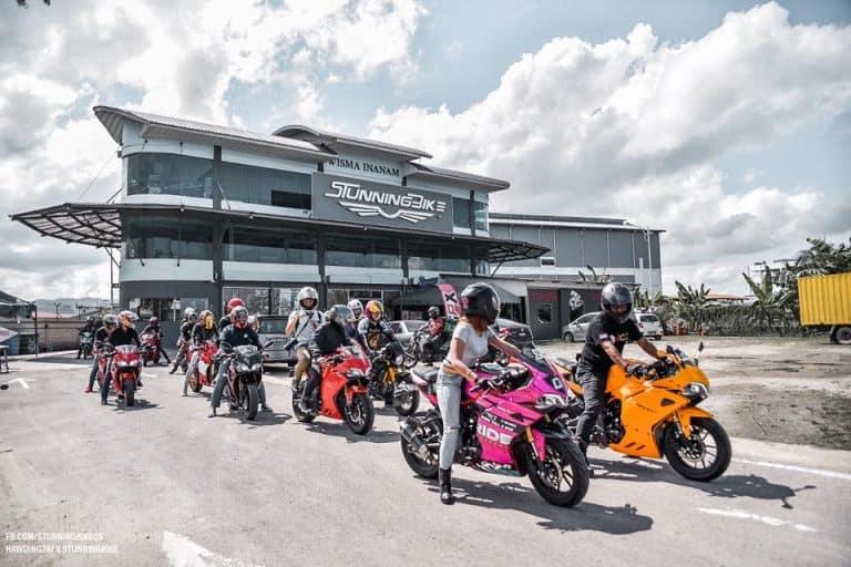 stunning gpx bike store sabah