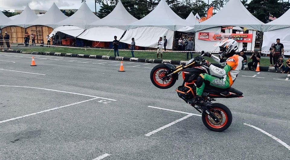 stunt show demon 150gn gpx malaysia