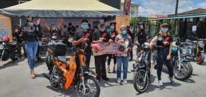 Santai Jelajah Pan Borneo Highway Menggunakan Gpx Popz Classic 110
