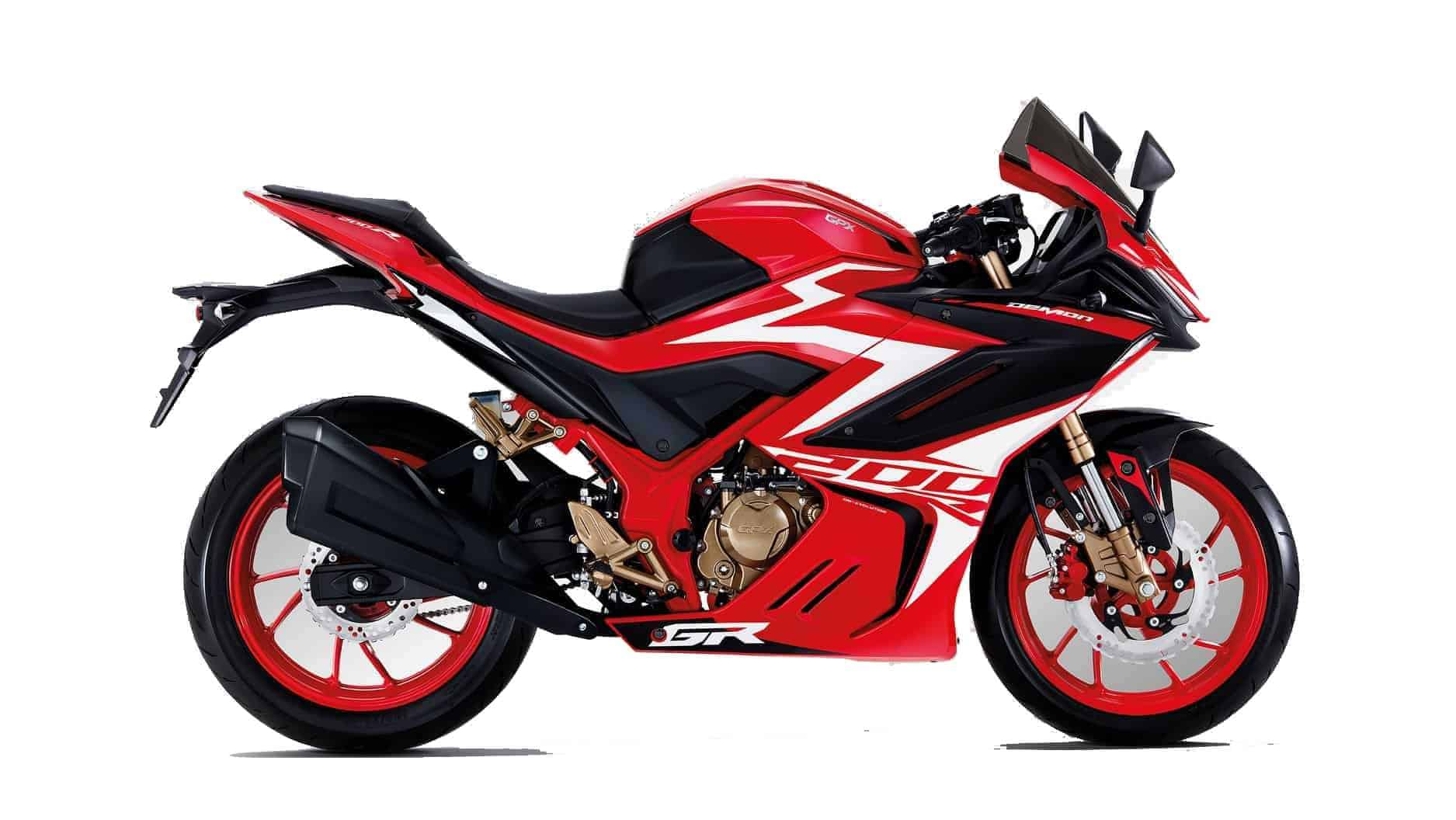 gpx demon gr200r colour red fire 1